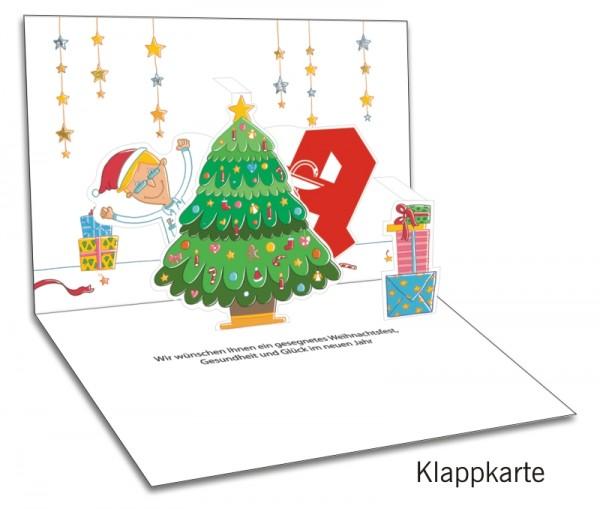 Grußkarten-Set 29 - Weihnachten Popup