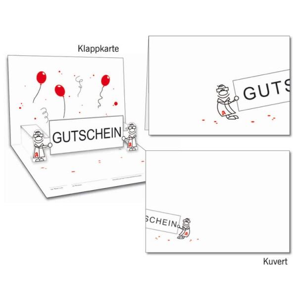 Grußkarten-Set 07 - Gutschein Popup