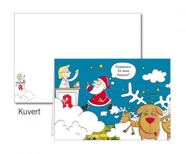 Grußkarten-Set 26 - Weihnachten 3D