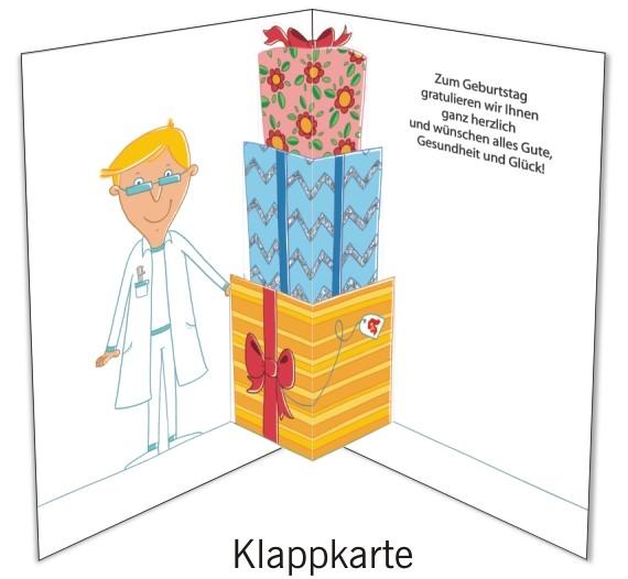 Grußkarten-Set 34 - Glückwunsch Popup