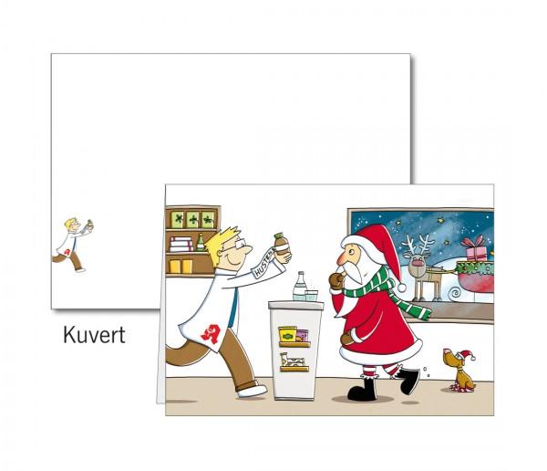 Grußkarten-Set 24 - Weihnachten Popup