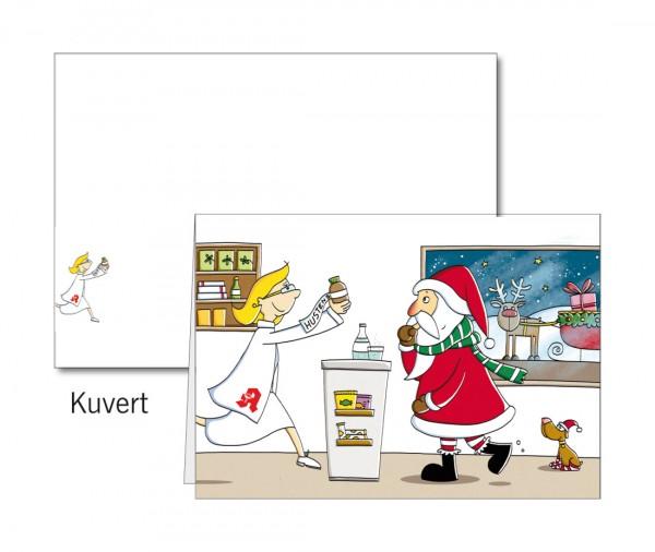 Grußkarten-Set 25 - Weihnachten Popup