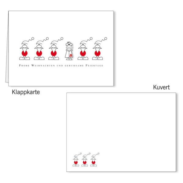 Grußkarten-Set 03 - Weihnachten 3D