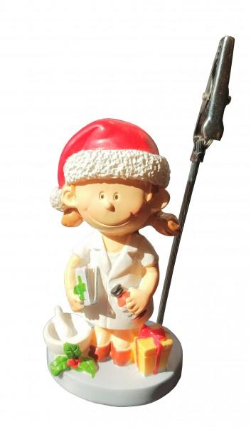 Apothekerin-Figur Weihnachten